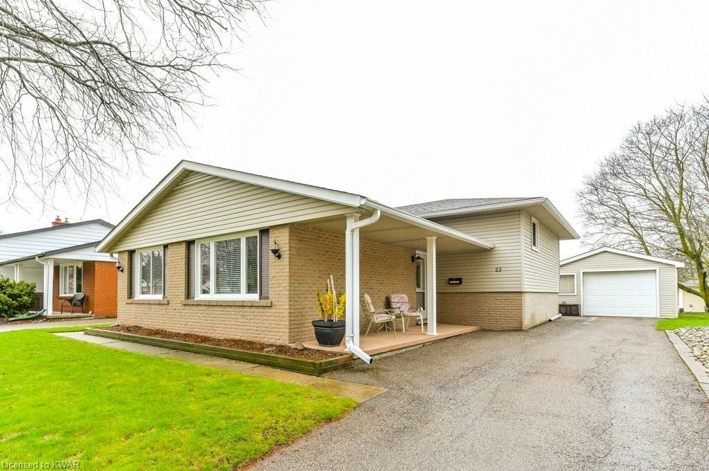 63 WAYNE Drive, Kitchener, Ontario