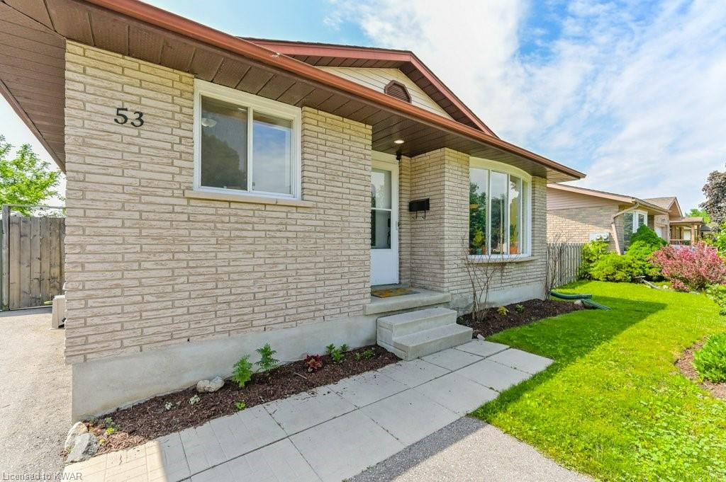 53 MILLWOOD Crescent, Kitchener, Ontario