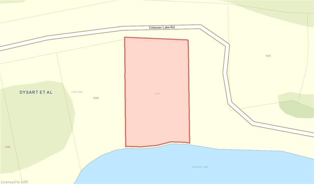 1210 COLEMAN LAKE Road, Haliburton, Ontario (ID 126319)