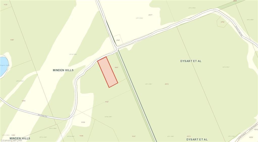 LOT 32 ERIC POTTER Road, Haliburton, Ontario (ID 241145)