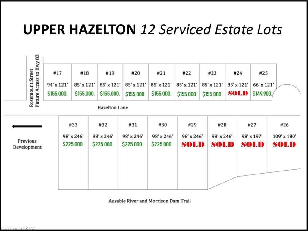 256 HAZELTON Lane, Exeter, Ontario (ID 167412)