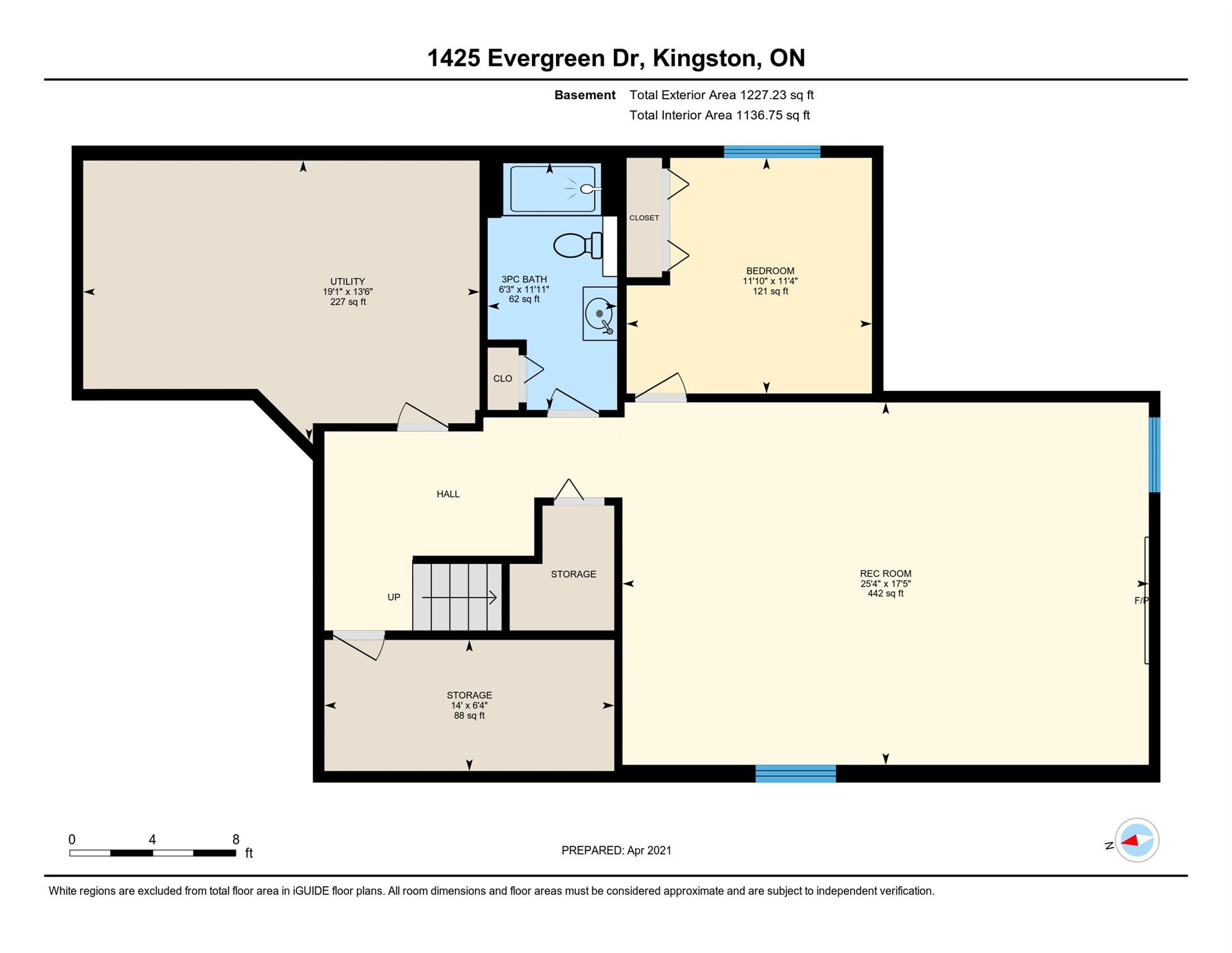 1425 Evergreen Drive, Kingston, Ontario (ID K21002445)