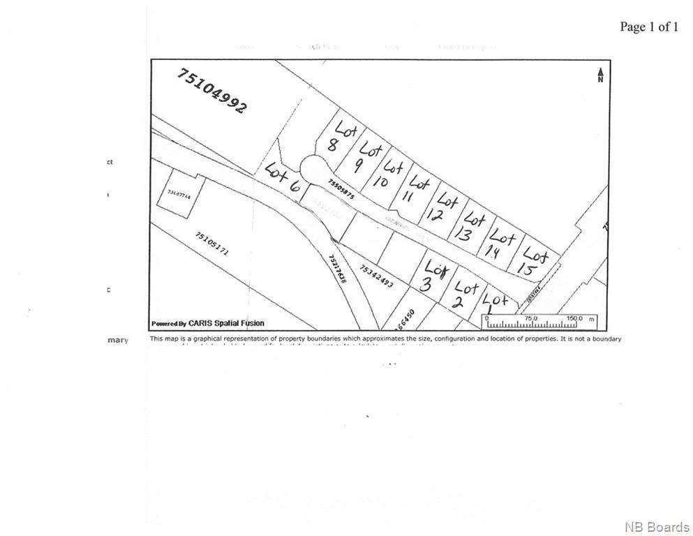 LOT 1 Clearview Court, Nackawic, New Brunswick (ID NB052940)