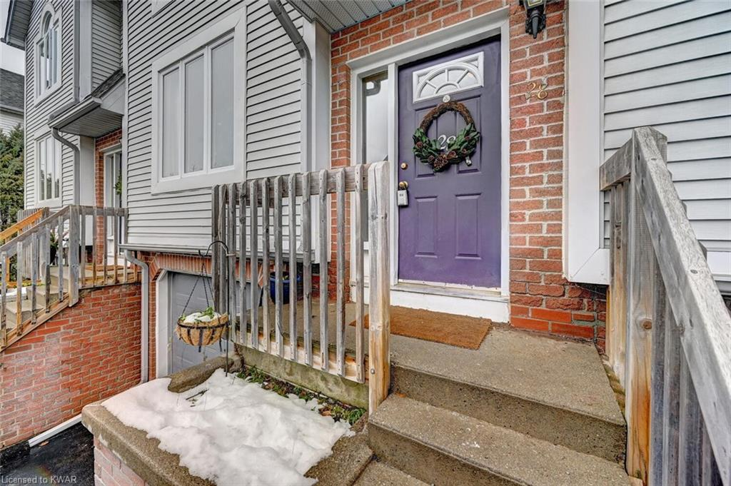 132 BRIGHTON Street Unit# 28, Waterloo, Ontario (ID 40050978)