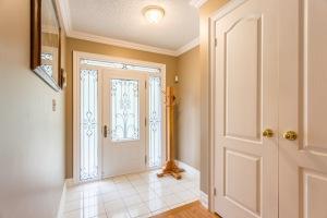 Lrg Foyer w/Wrought Iron Door