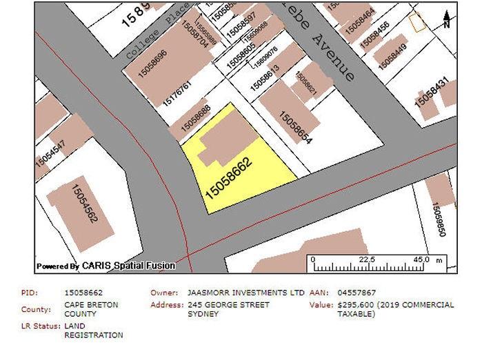 245 George Street, Sydney, Nova Scotia (ID 202105480)