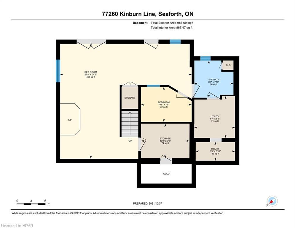 77260 KINBURN Line, Seaforth, Ontario (ID 40173384)