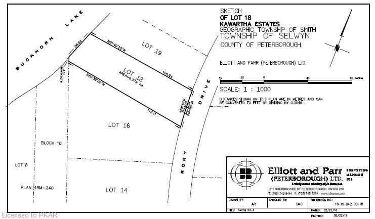 LOT 18 SEVENTEENTH Line, Selwyn, Ontario (ID 168488)
