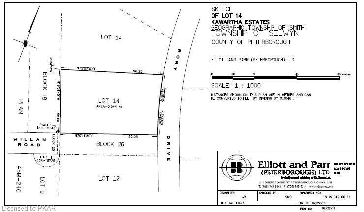 14 SEVENTEENTH Line, Selwyn, Ontario (ID 252006)