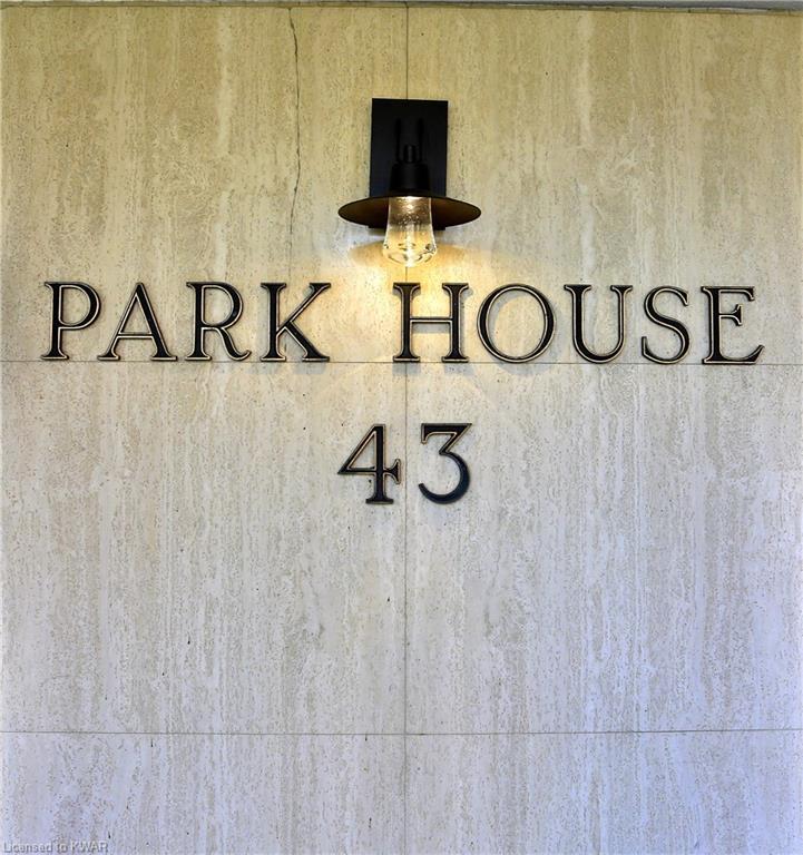 43 CAROLINE Street N Unit# 203, Waterloo, Ontario (ID 40042578)