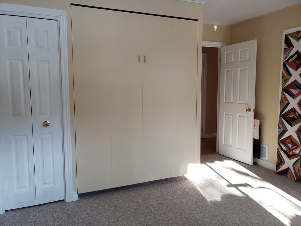 Murphy Bed in closed position