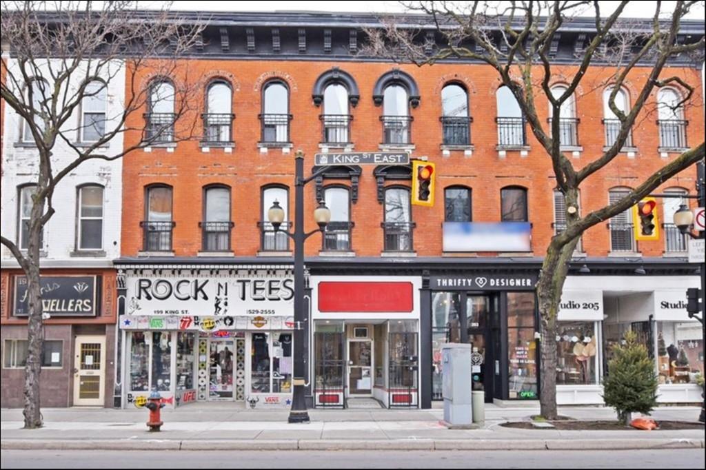 201 King St East, Hamilton, Ontario