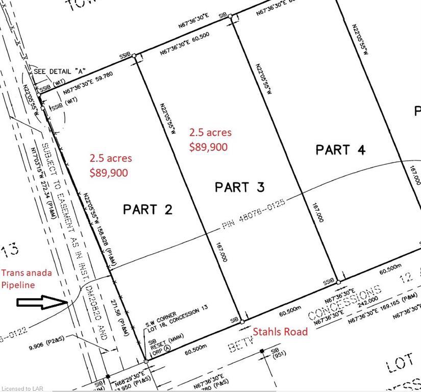 PART 3 STAHLS Road, Huntsville, Ontario (ID 250686)