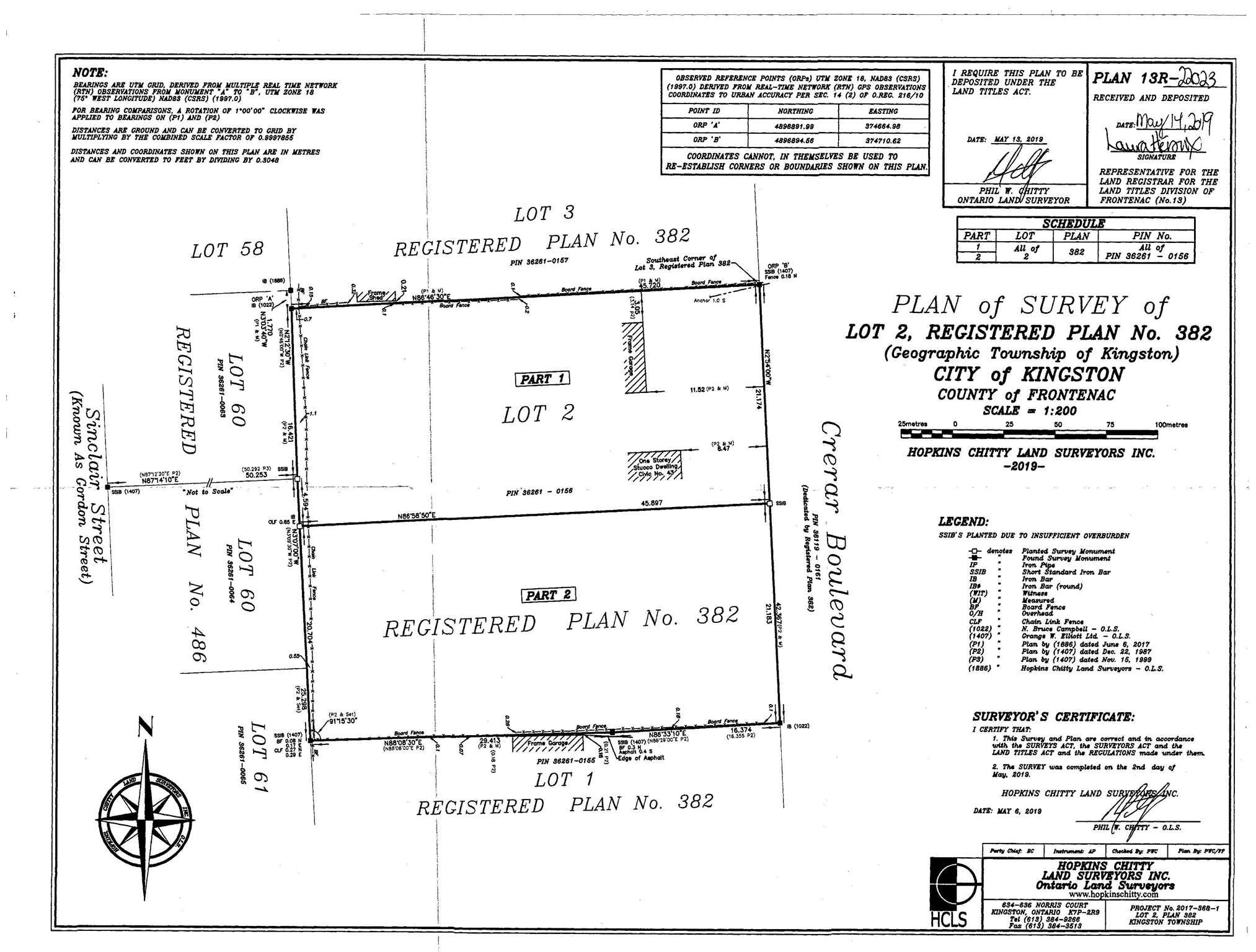 41 Crerar Boulevard, Kingston, Ontario (ID K19005813)