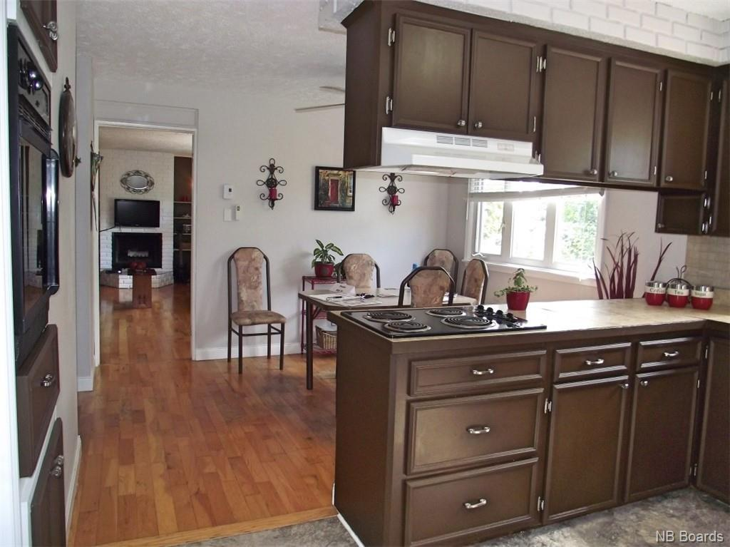 kitchen to dining to living room
