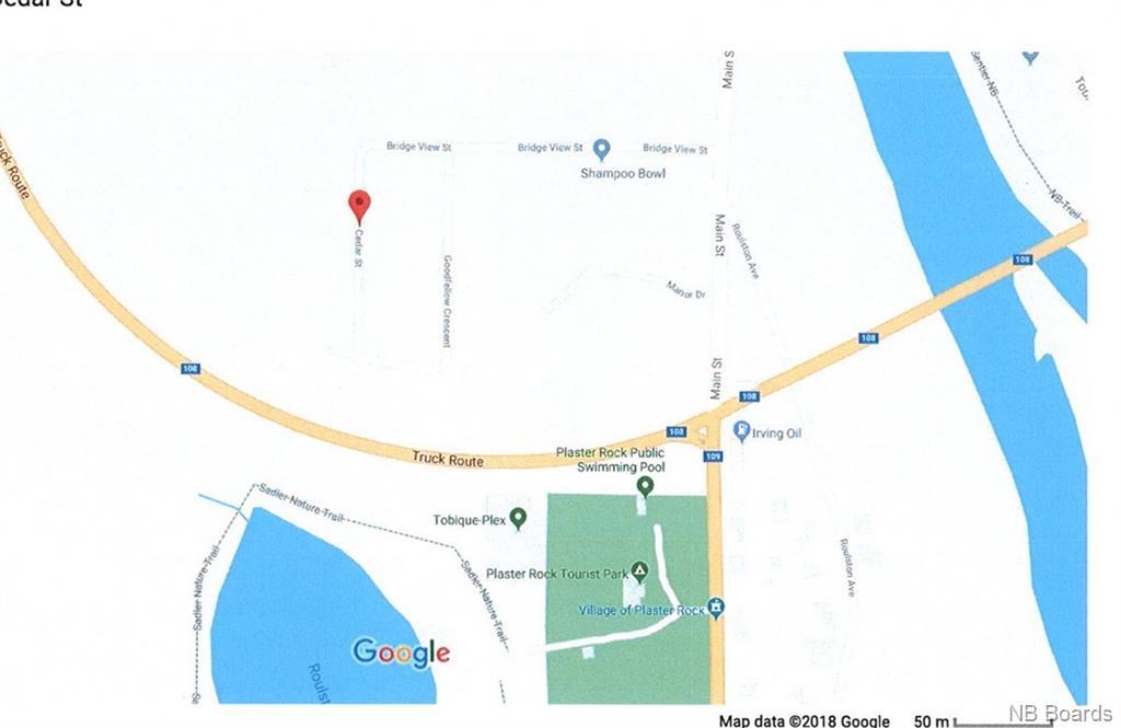 5 Cedar Street, Plaster Rock, New Brunswick (ID NB016231)