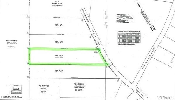 Lot 07-3 Route 102, Gagetown, New Brunswick (ID NB048567)