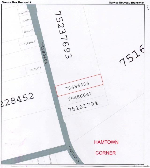LOT 93-2 Route 620, Hamtown Corner, New Brunswick (ID NB049281)