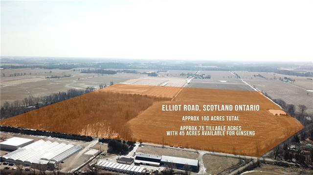n/a ELLIOTT Road, Scotland, Ontario (ID 30720357)