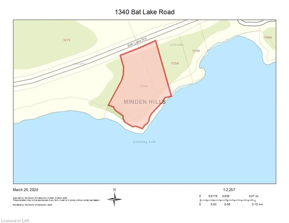 1340 BAT LAKE Road, Minden, Ontario (ID 252623)