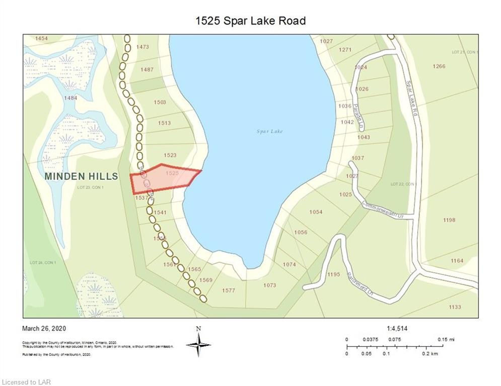 1525 SPAR LAKE Road, Norland, Ontario (ID 253000)