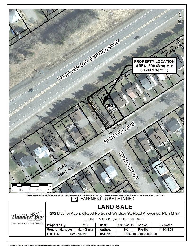 202 Blucher Avenue, Thunder Bay, Ontario (ID TB211350)