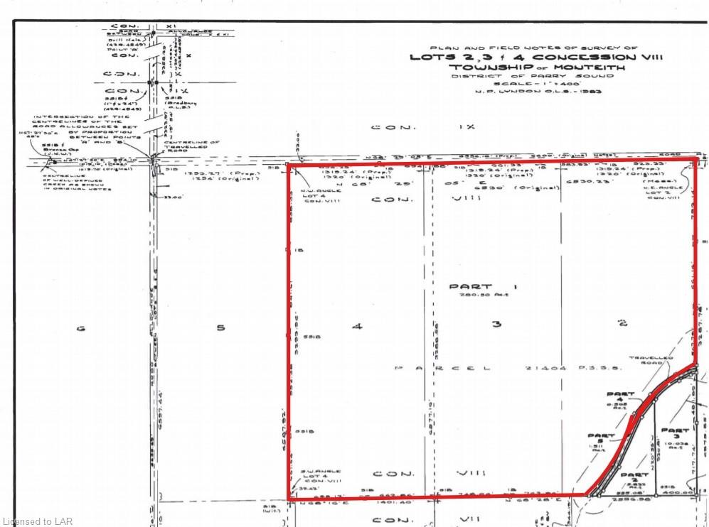 AXE LAKE Road, Sprucedale, Ontario (ID 40084778)