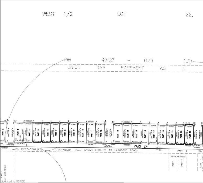 LOT 23 LAROCQUE Road, North Bay, Ontario (ID 221714)