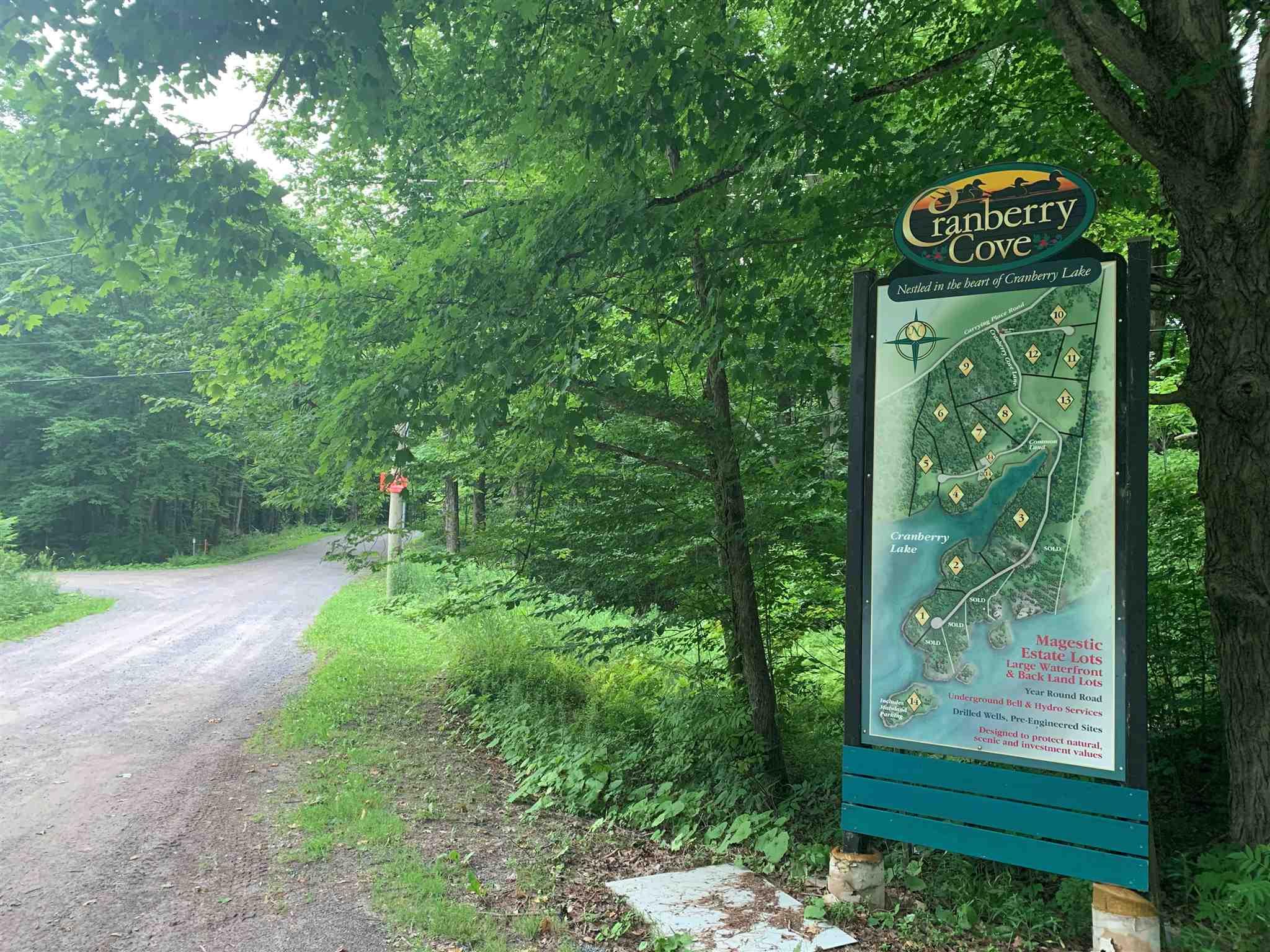 Lot 2 Cranberry Cove Lane, South Frontenac, Ontario (ID K20004043)