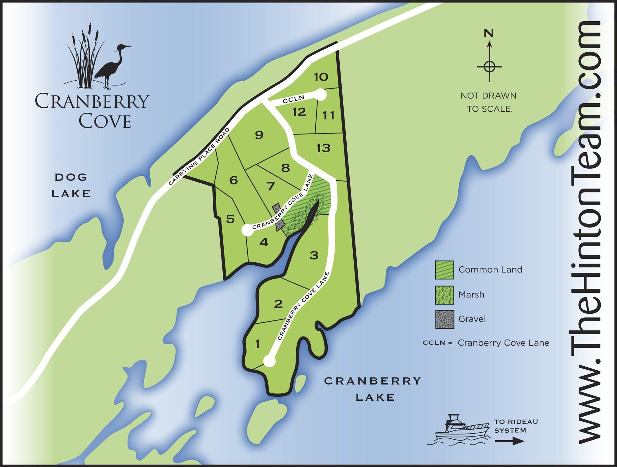 Lot 2 Cranberry Cove Lane, South Frontenac, Ontario (ID K21001191)