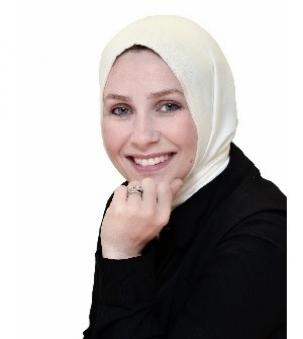 Nagia Fawzi portrait