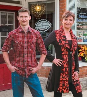 Kathie Lycett and Jordie Westbrook portrait