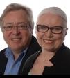 Sandra Foreman and Geoff Church portrait