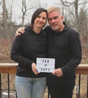 Pamela & Danny Foy portrait