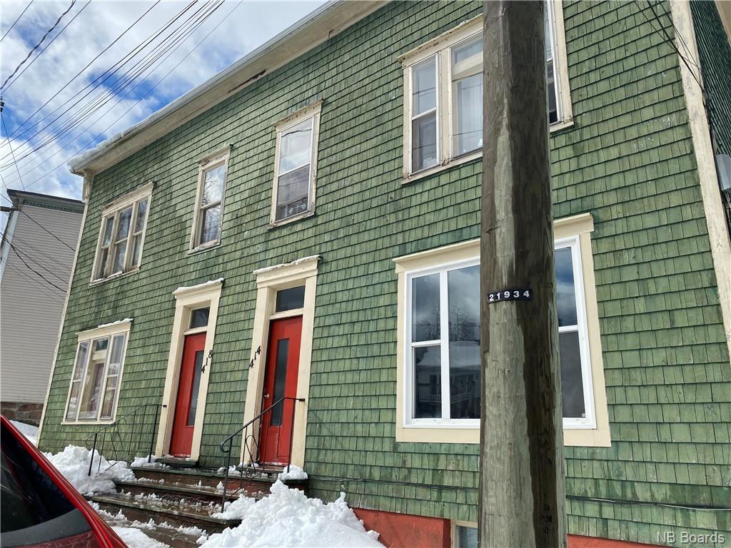 408-418 Prince Street, Saint John New Brunswick, Canada