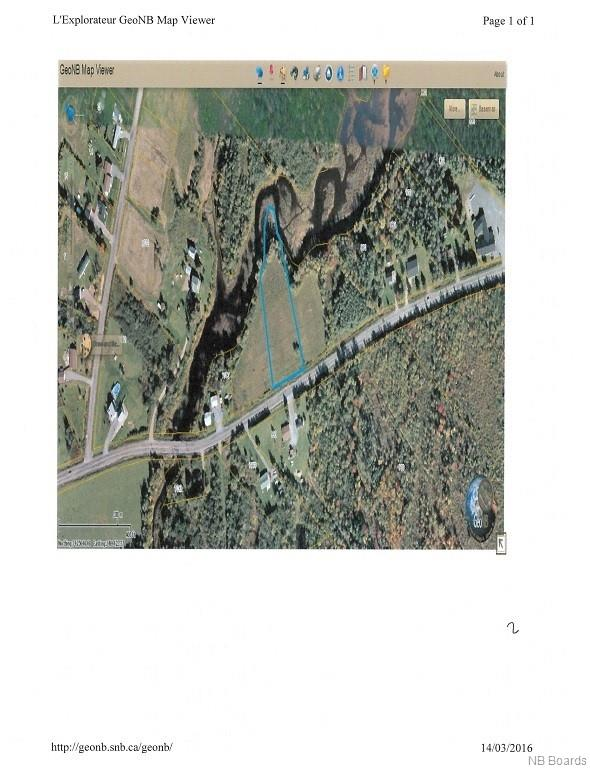 Lot 2 655 Route, Waasis New Brunswick, Canada