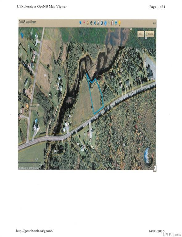 Lot 3 655 Route, Waasis New Brunswick, Canada