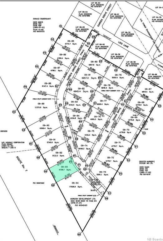 Lot 09-93 Garden Grove Street, Lincoln New Brunswick, Canada