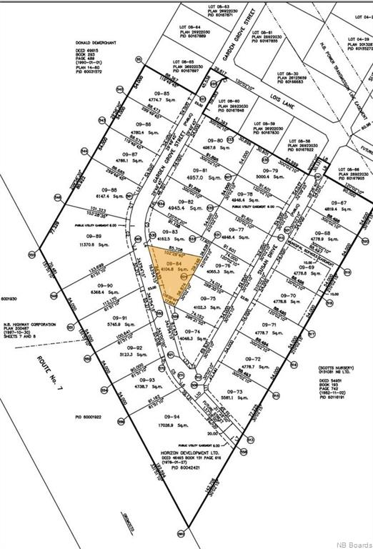 Lot 09-84 Garden Grove Street, Lincoln New Brunswick, Canada