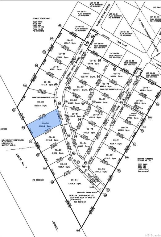 Lot 09-90 Garden Grove Street, Lincoln New Brunswick, Canada