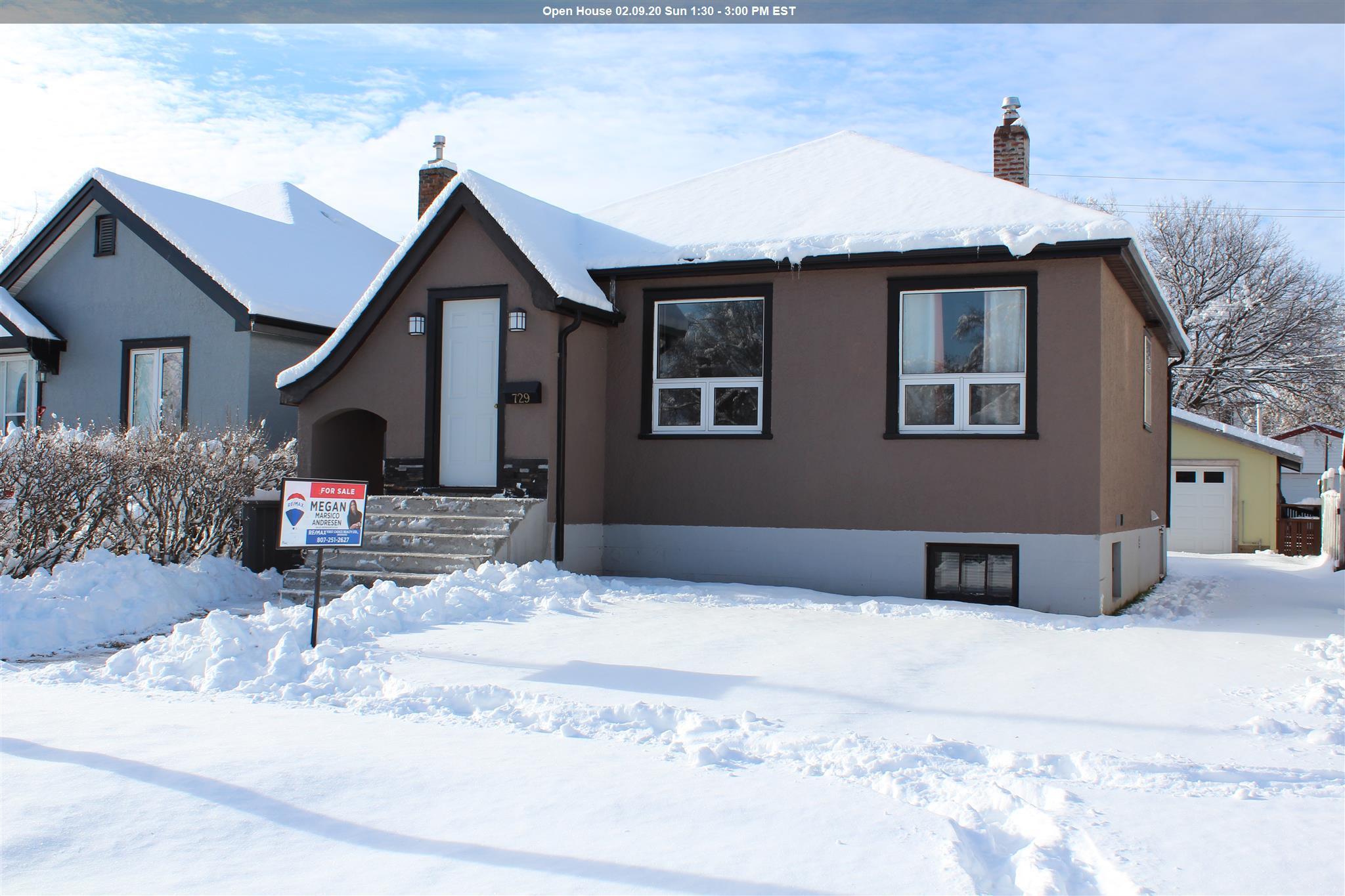 729 Norah Street S, Thunder Bay Ontario, Canada