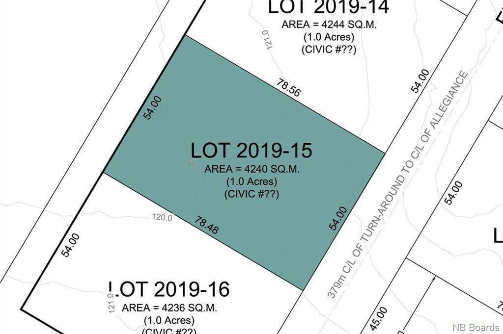 Lot 2019-15 Freedom Street, Killarney Road New Brunswick, Canada