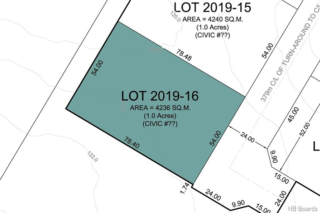 Lot 2019-16 Freedom Street, Killarney Road New Brunswick, Canada