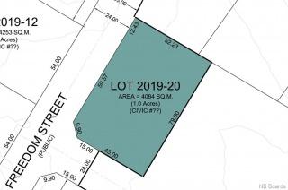 Lot 2019-20 Freedom Street, Killarney Road New Brunswick, Canada