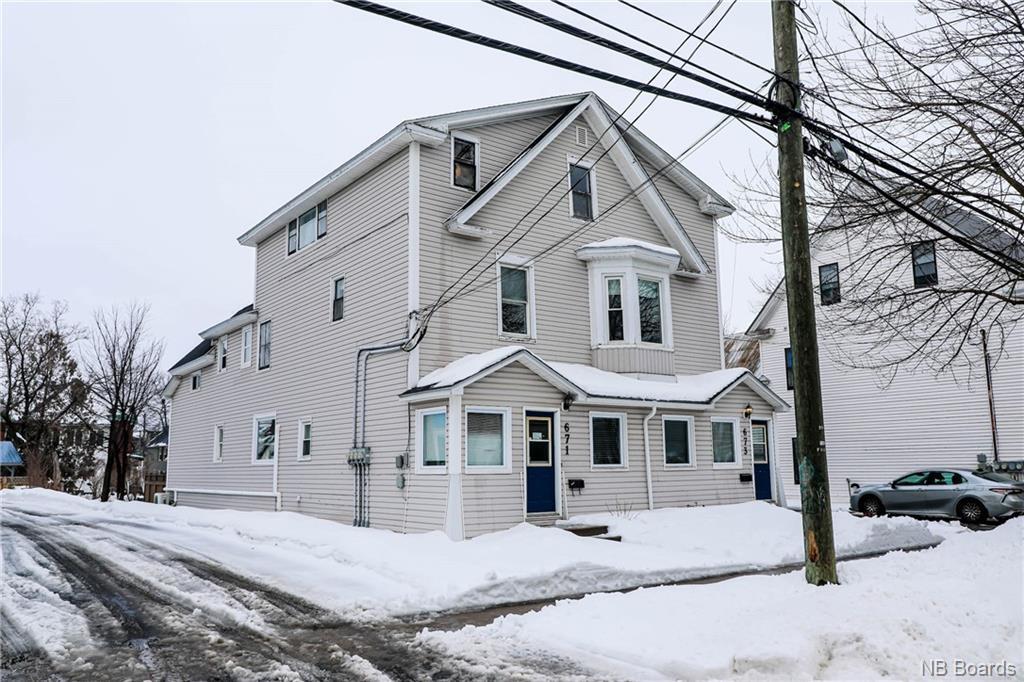 671, 673, 675, 677 Charlotte Street, Fredericton New Brunswick, Canada