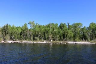 Location S818 Gun Lake, Minaki Ontario, Canada
