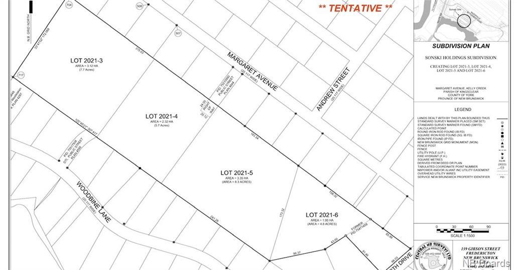 Lot 2021-3 Woodbine Lane, Mazerolle Settlement New Brunswick, Canada