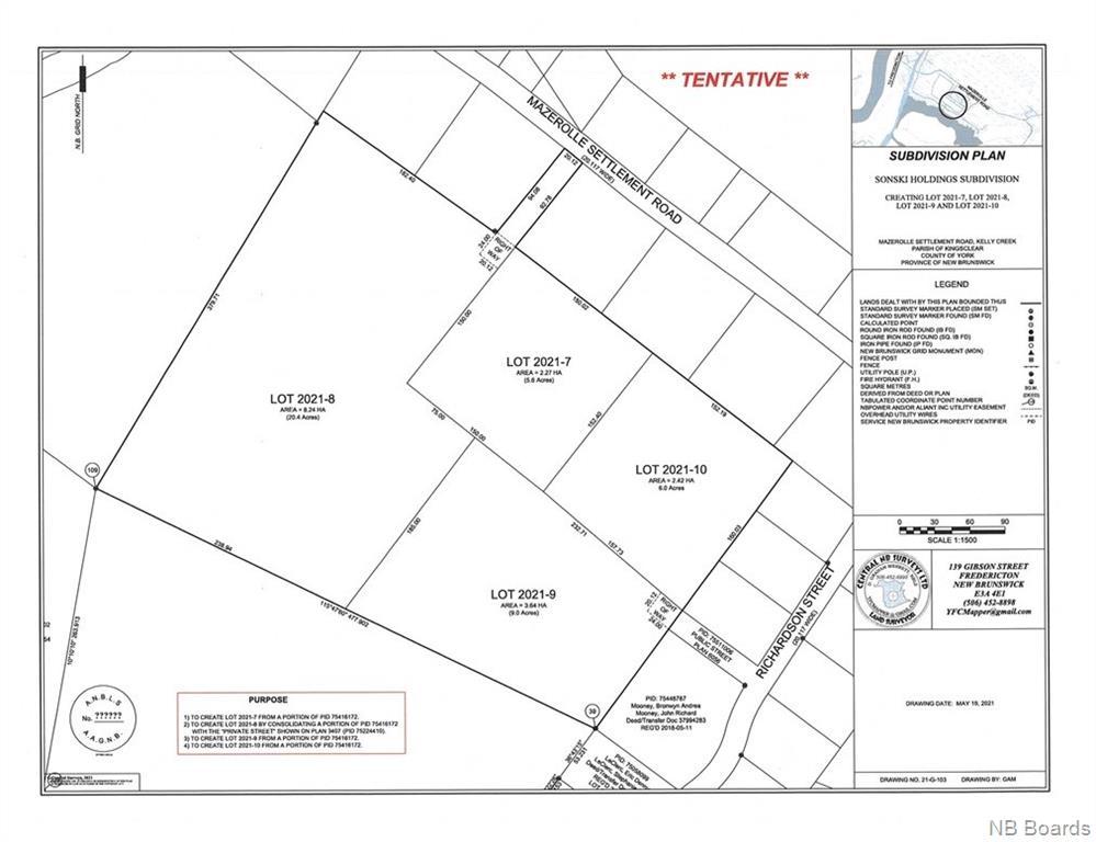 2021-9 Richardson Street, Mazerolle Settlement New Brunswick, Canada