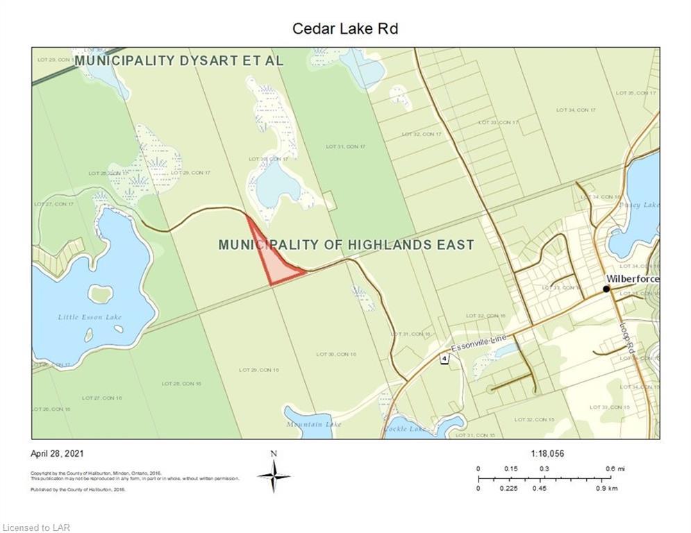 CEDAR LAKE Road, Wilberforce, Ontario, Canada