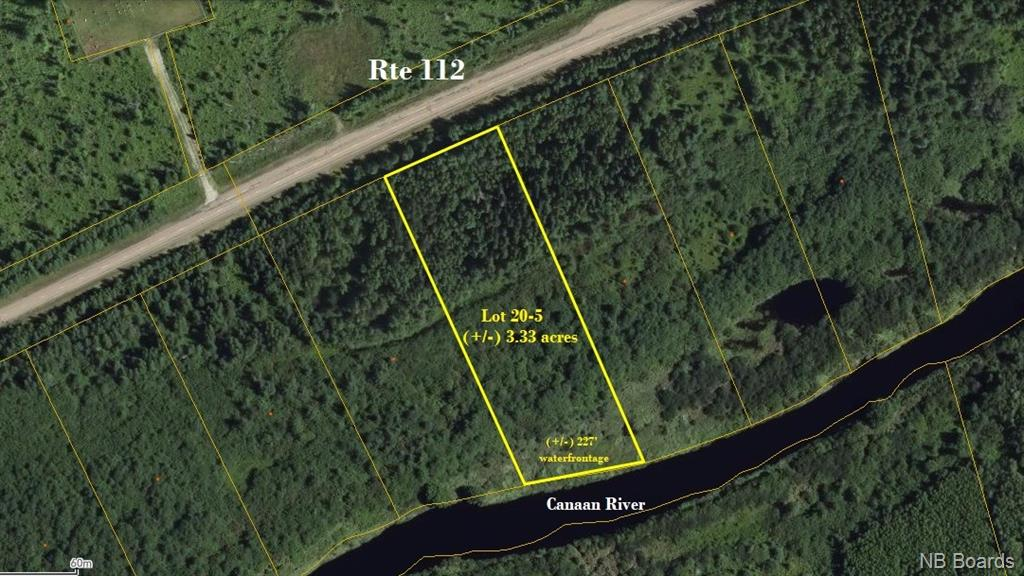 Lot 20-5 Route 112, Canaan Forks New Brunswick, Canada